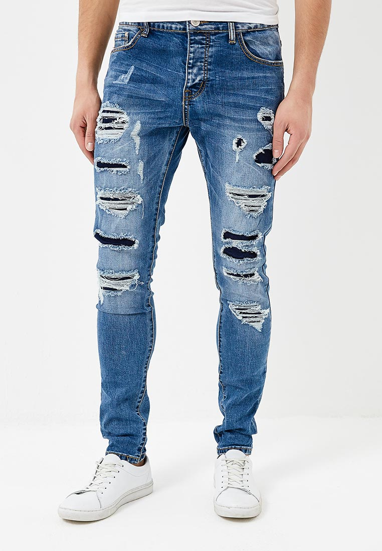 Мужские прямые джинсы Terance Kole 72186
