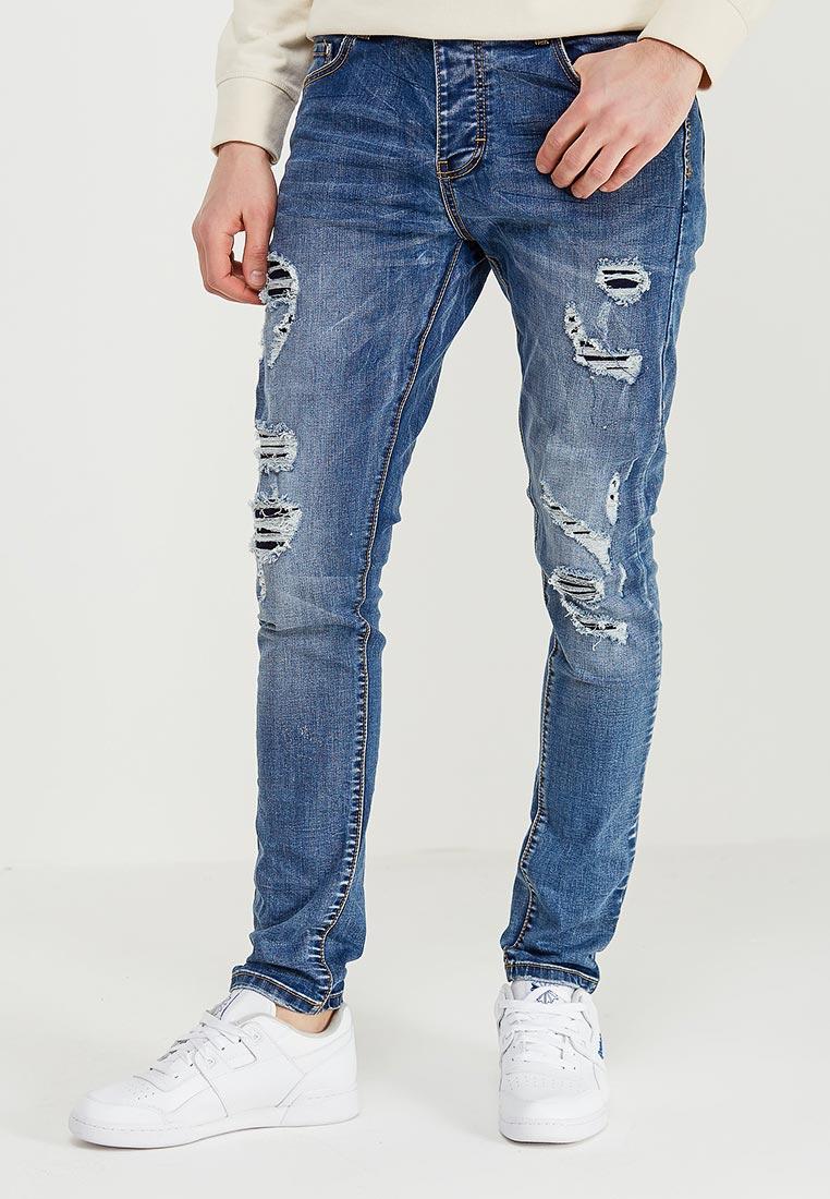 Зауженные джинсы Terance Kole 72188
