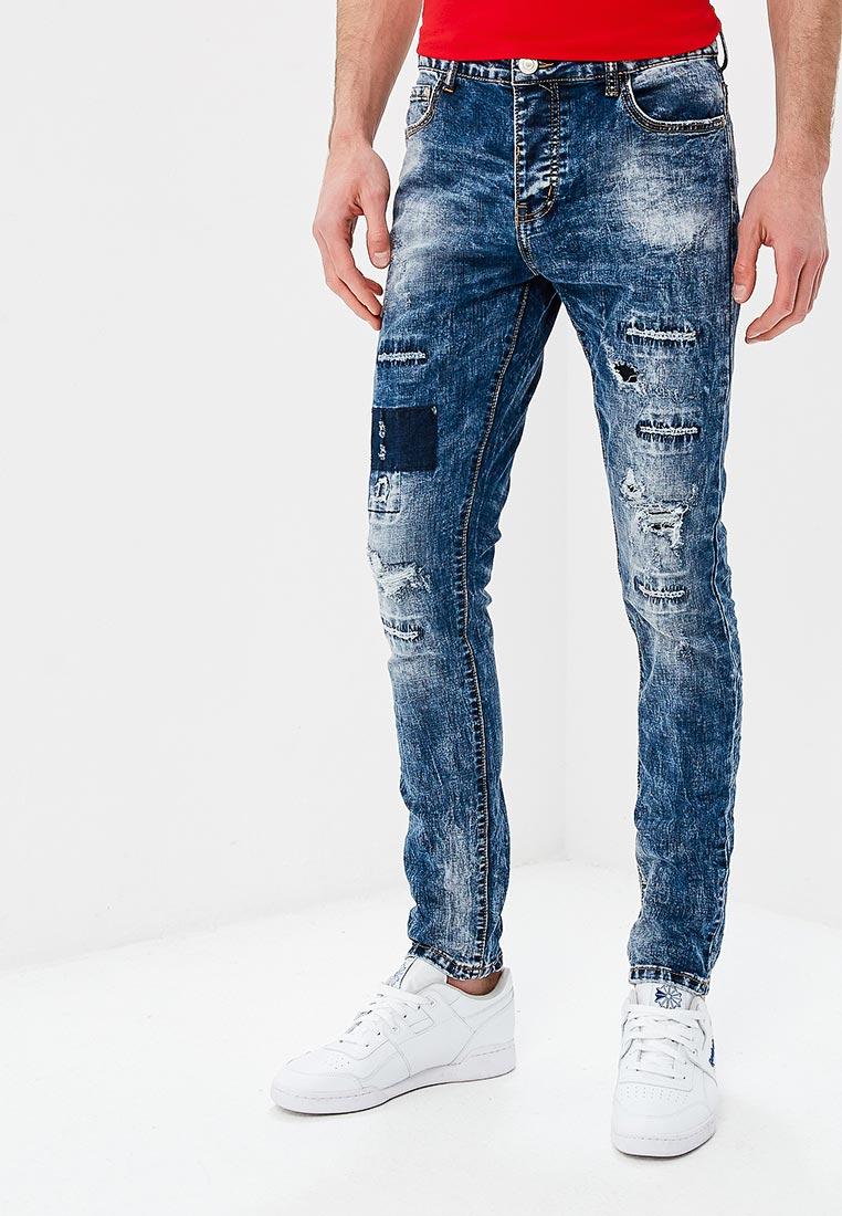 Зауженные джинсы Terance Kole 72201