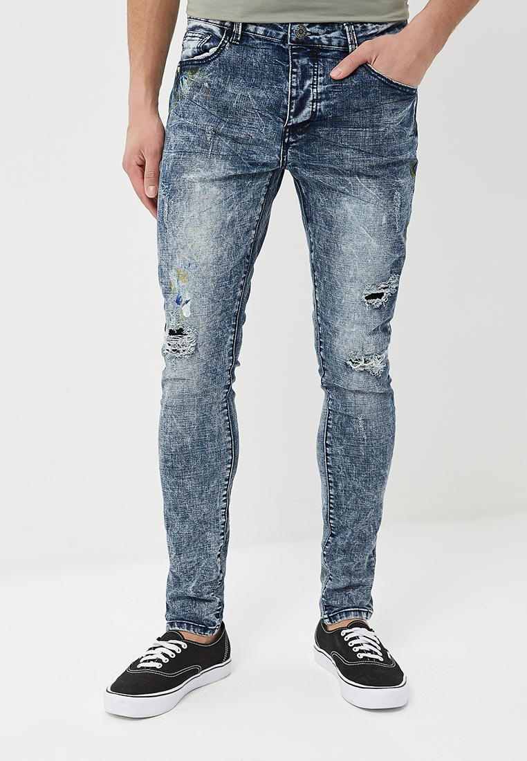 Зауженные джинсы Terance Kole 72172