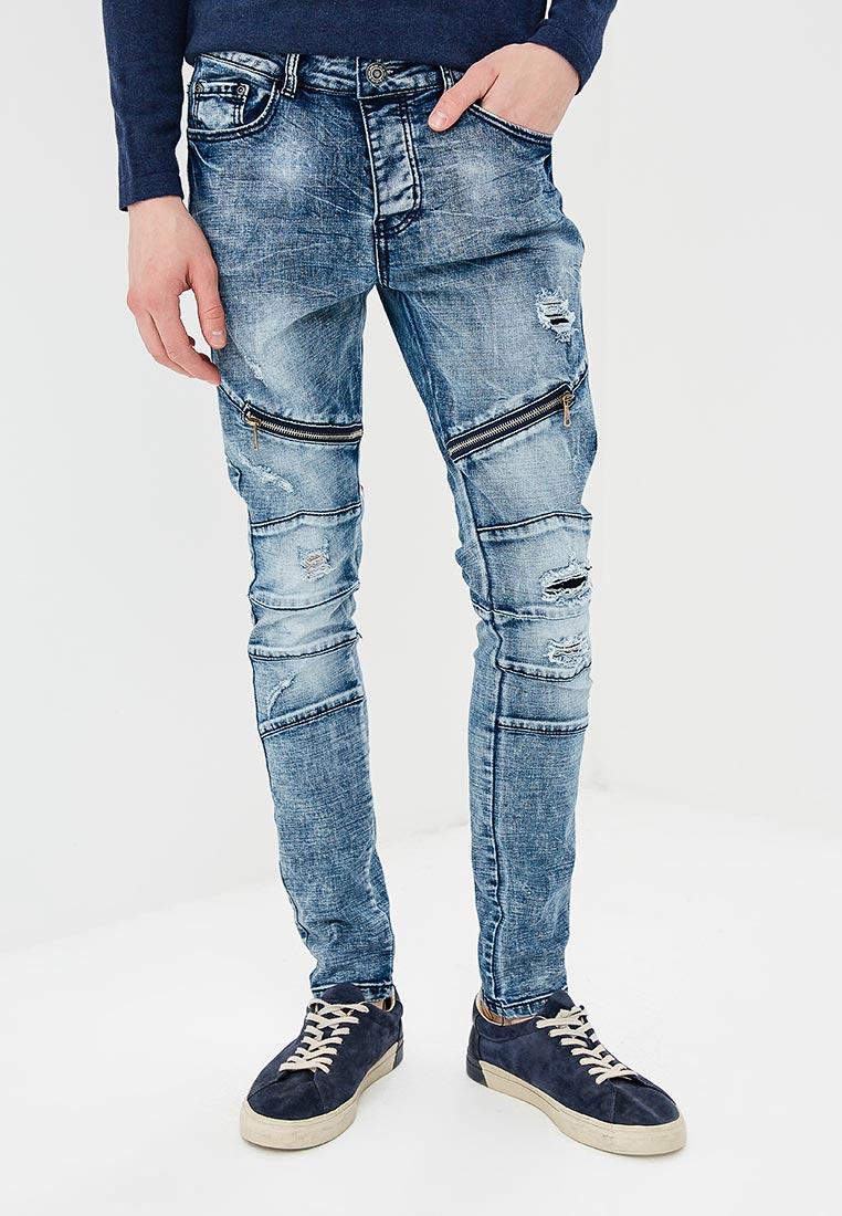 Зауженные джинсы Terance Kole 72176