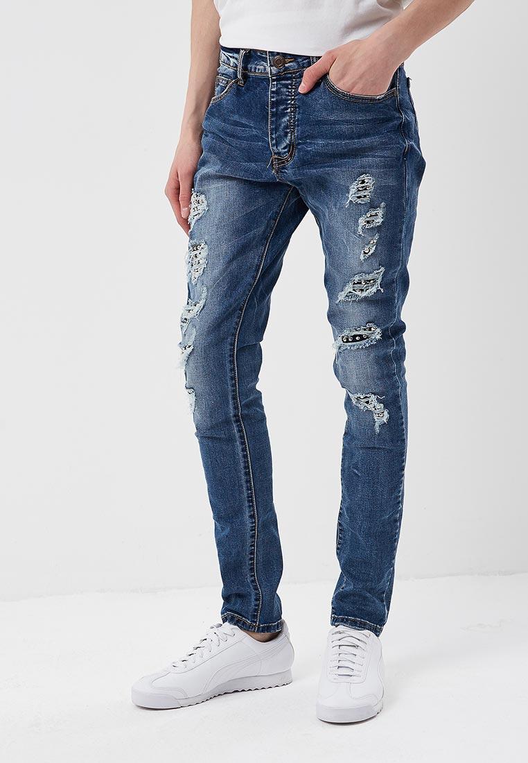 Зауженные джинсы Terance Kole 72187