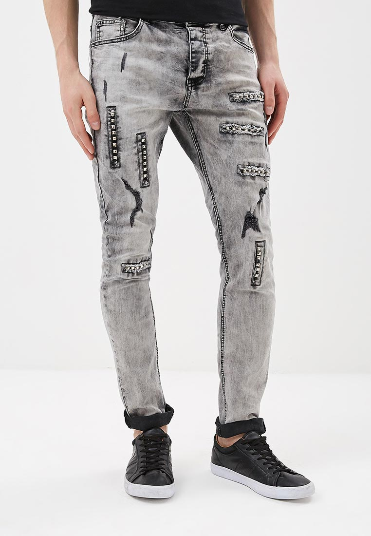 Зауженные джинсы Terance Kole 72206