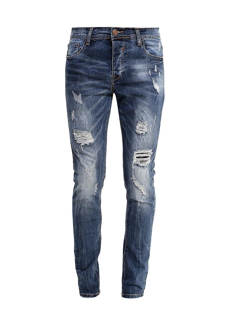 Зауженные джинсы Terance Kole 72055