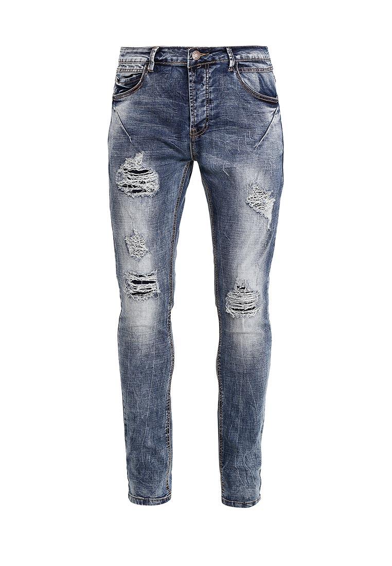 Зауженные джинсы Terance Kole 72069