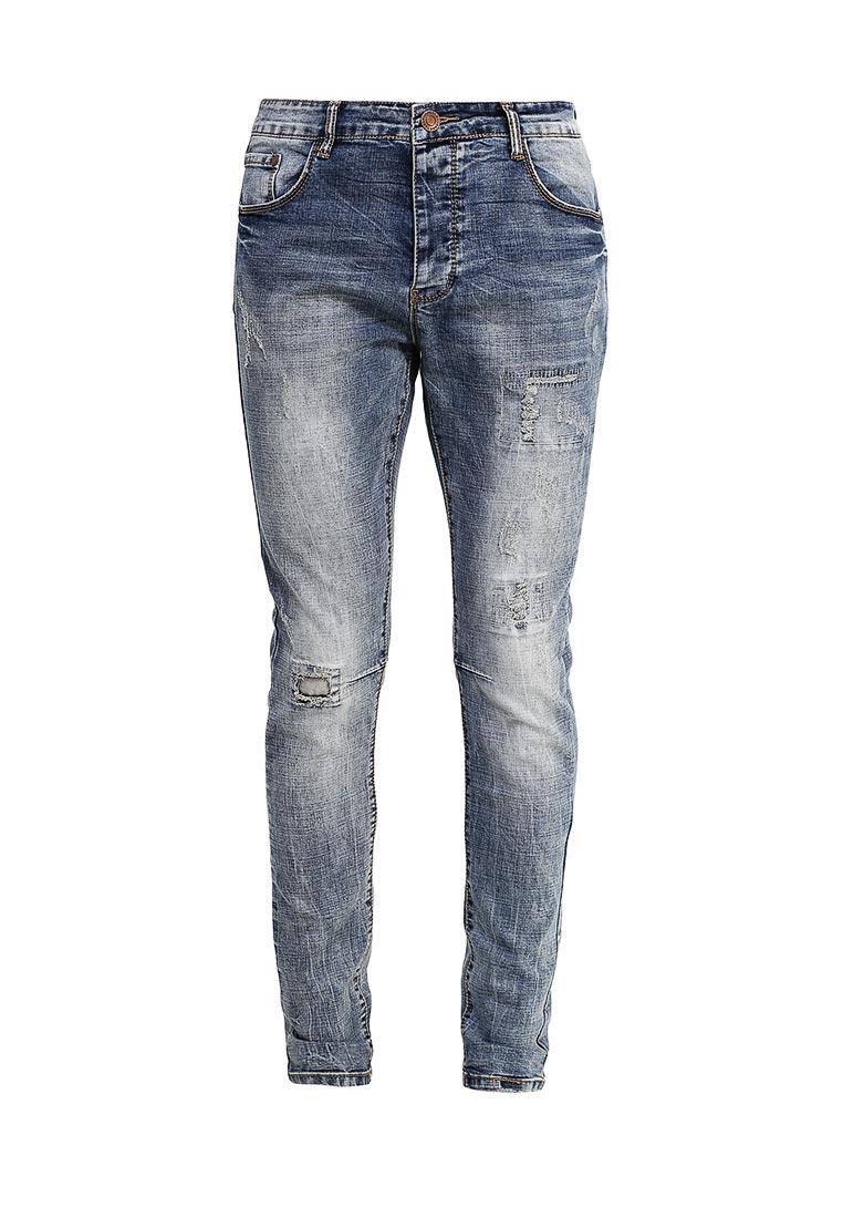 Зауженные джинсы Terance Kole 72077