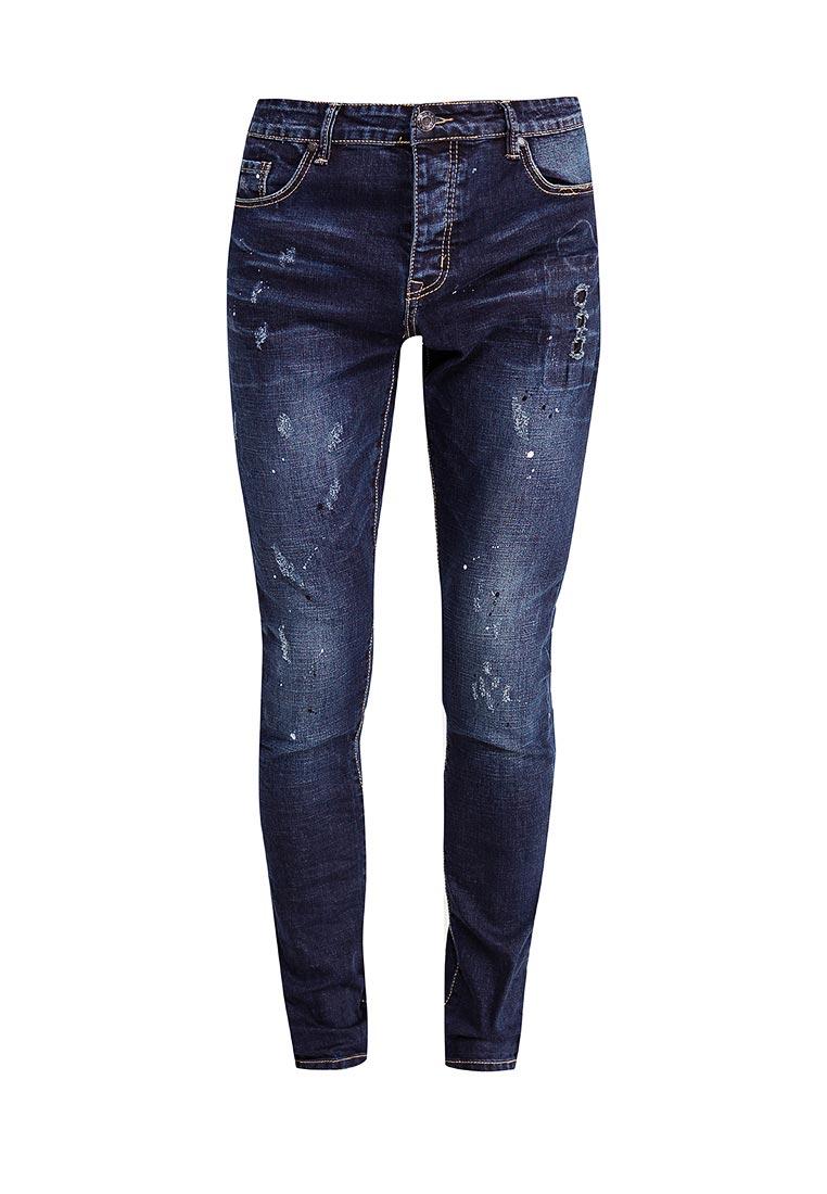 Зауженные джинсы Terance Kole 72095