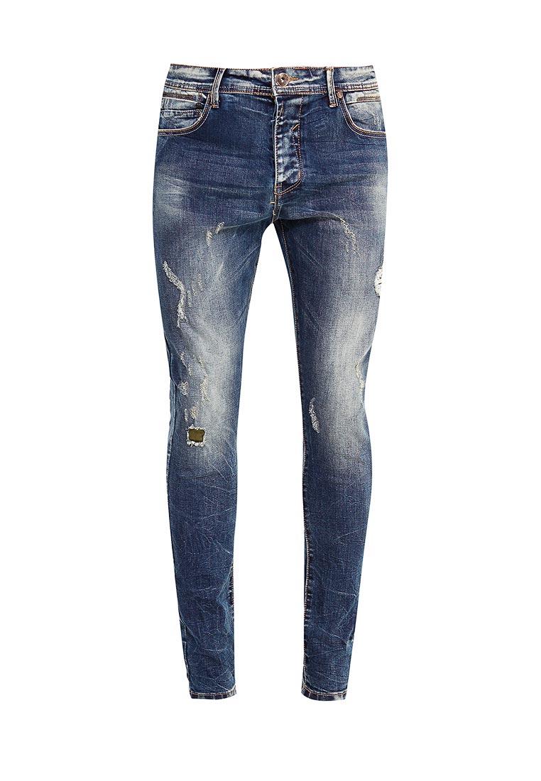 Зауженные джинсы Terance Kole 72098