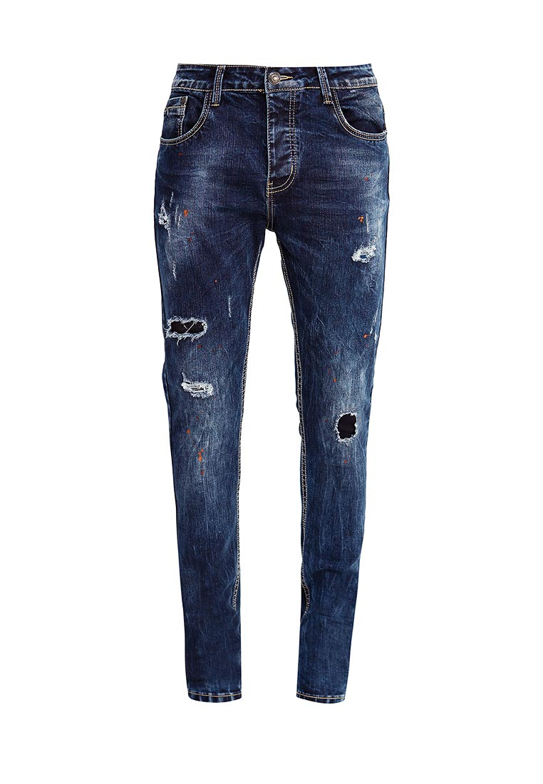 Зауженные джинсы Terance Kole 72105