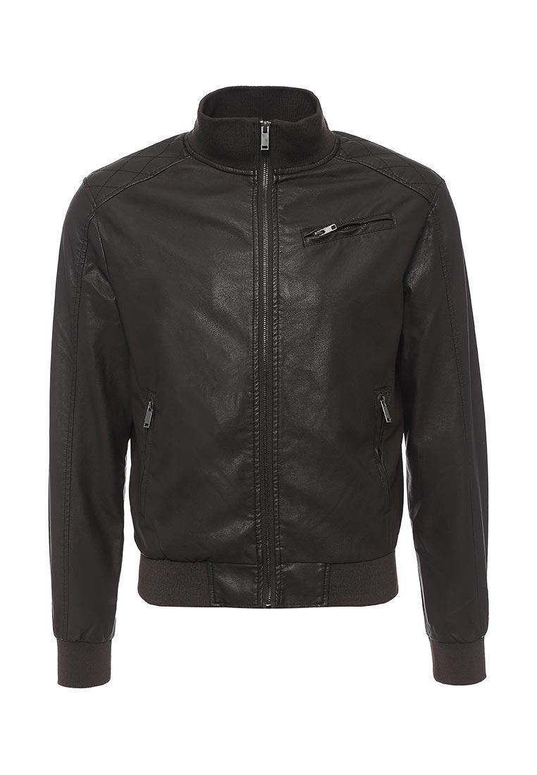Кожаная куртка Time For Future T4F M9050.19