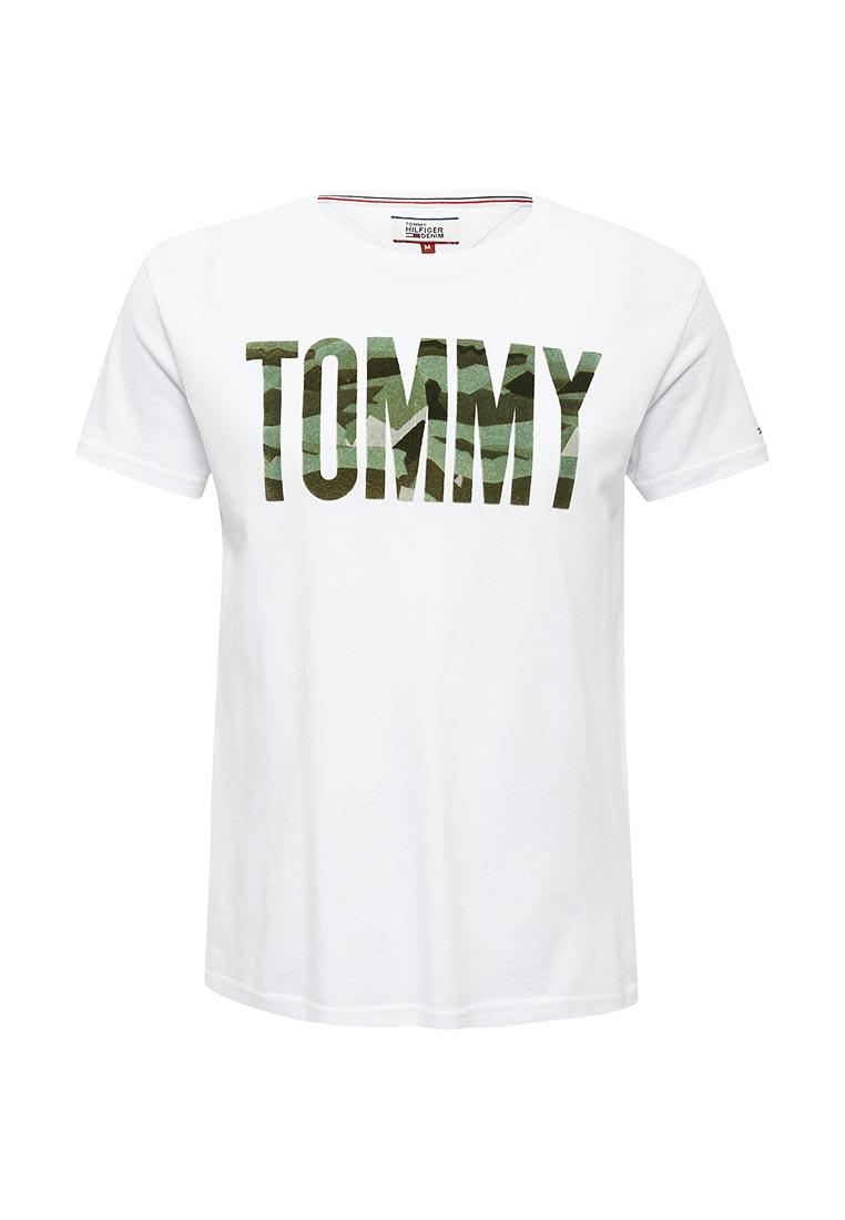 Футболка с коротким рукавом TommyHilfigerDenim (Томми Хилфигер Деним) DM0DM02968