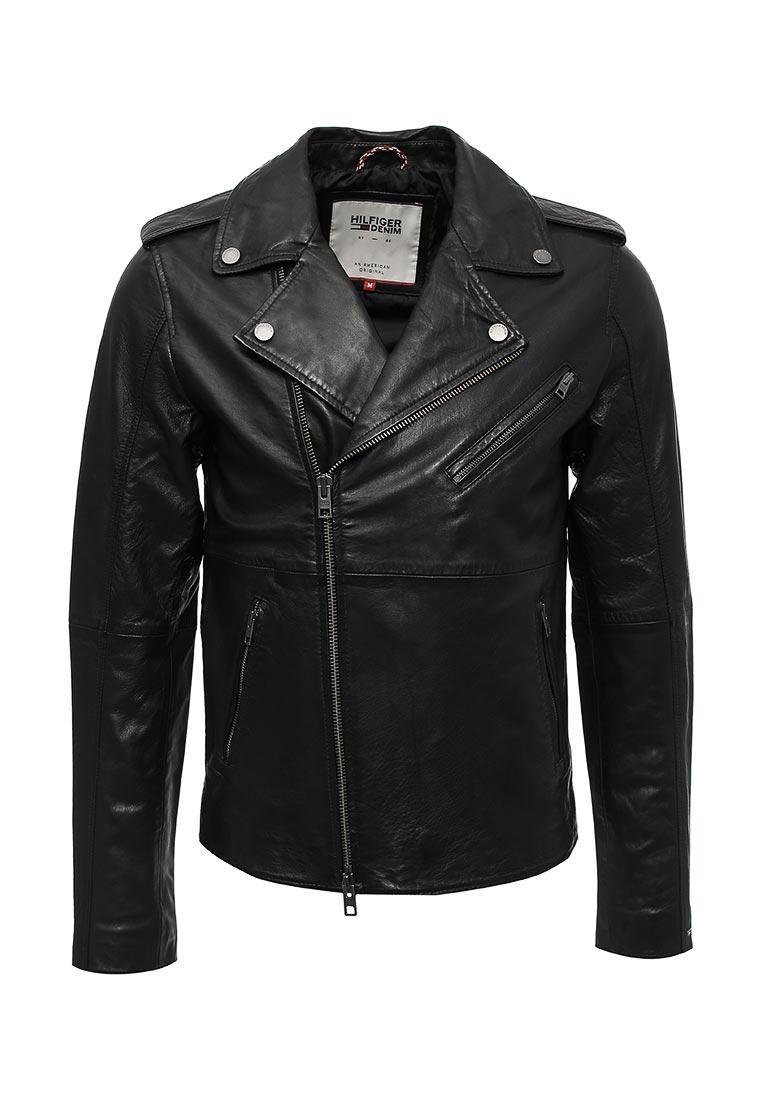 Кожаная куртка TommyHilfigerDenim (Томми Хилфигер Деним) DM0DM02163