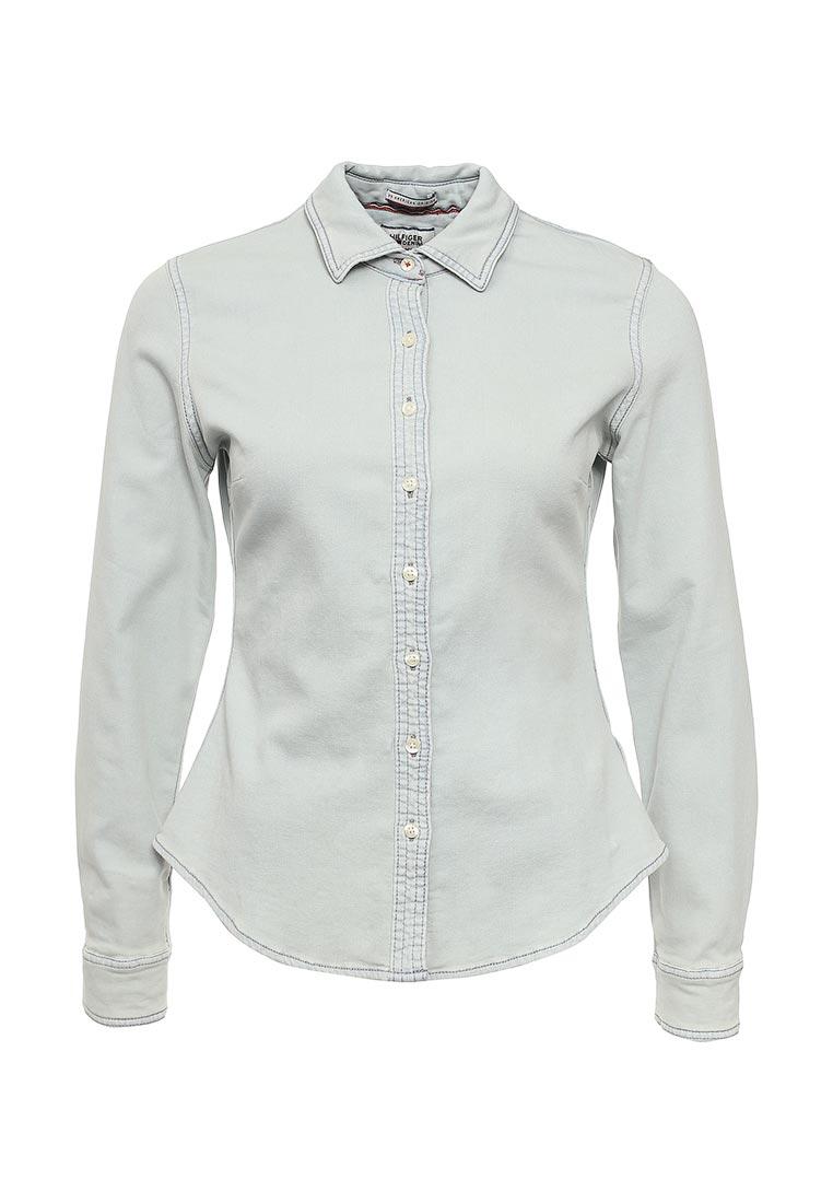 Женские джинсовые рубашки Tommy Hilfiger Denim DW0DW01402