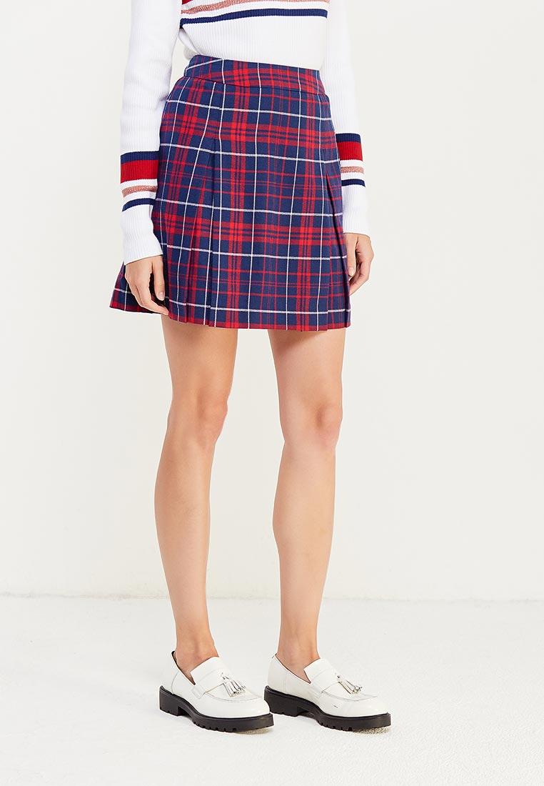 Широкая юбка TommyHilfigerDenim (Томми Хилфигер Деним) DW0DW02735