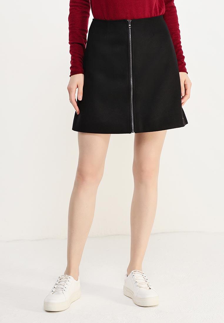 Широкая юбка TommyHilfigerDenim (Томми Хилфигер Деним) DW0DW02943