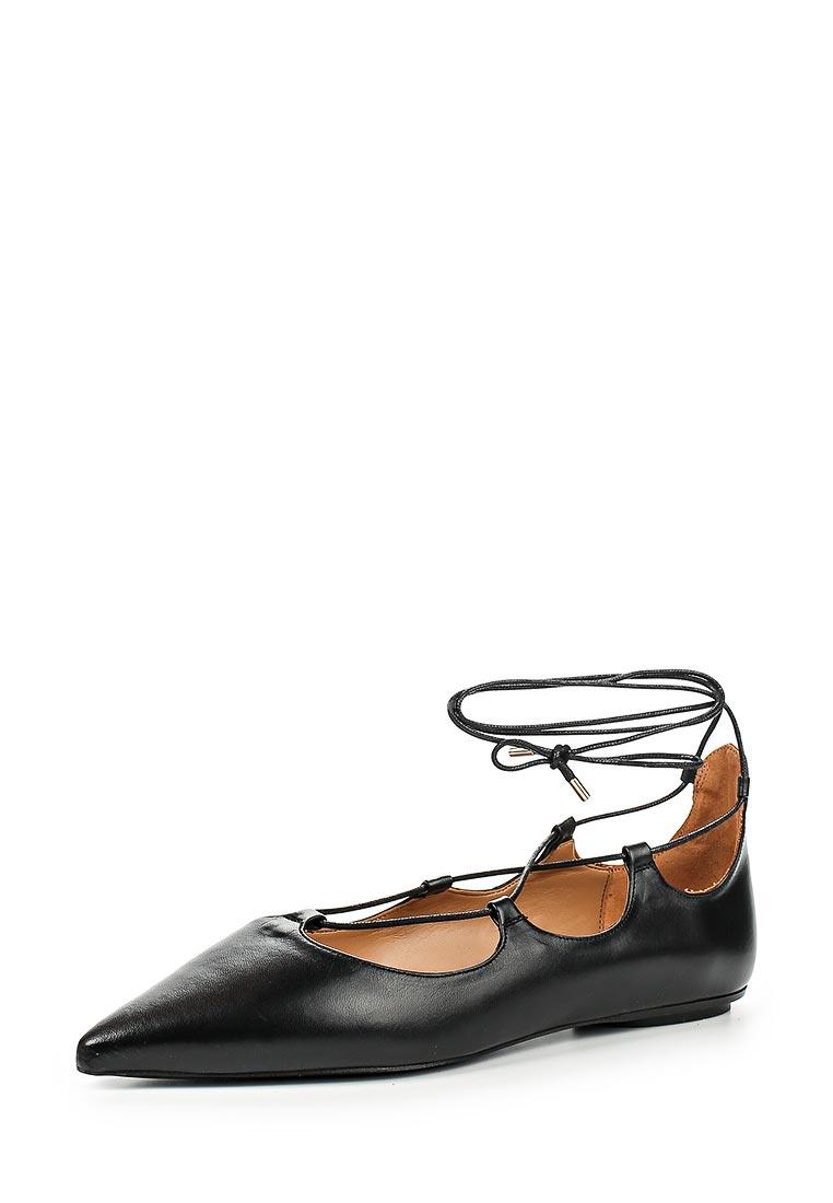 Туфли на плоской подошве Topshop (Топ Шоп) 32K02JBLK