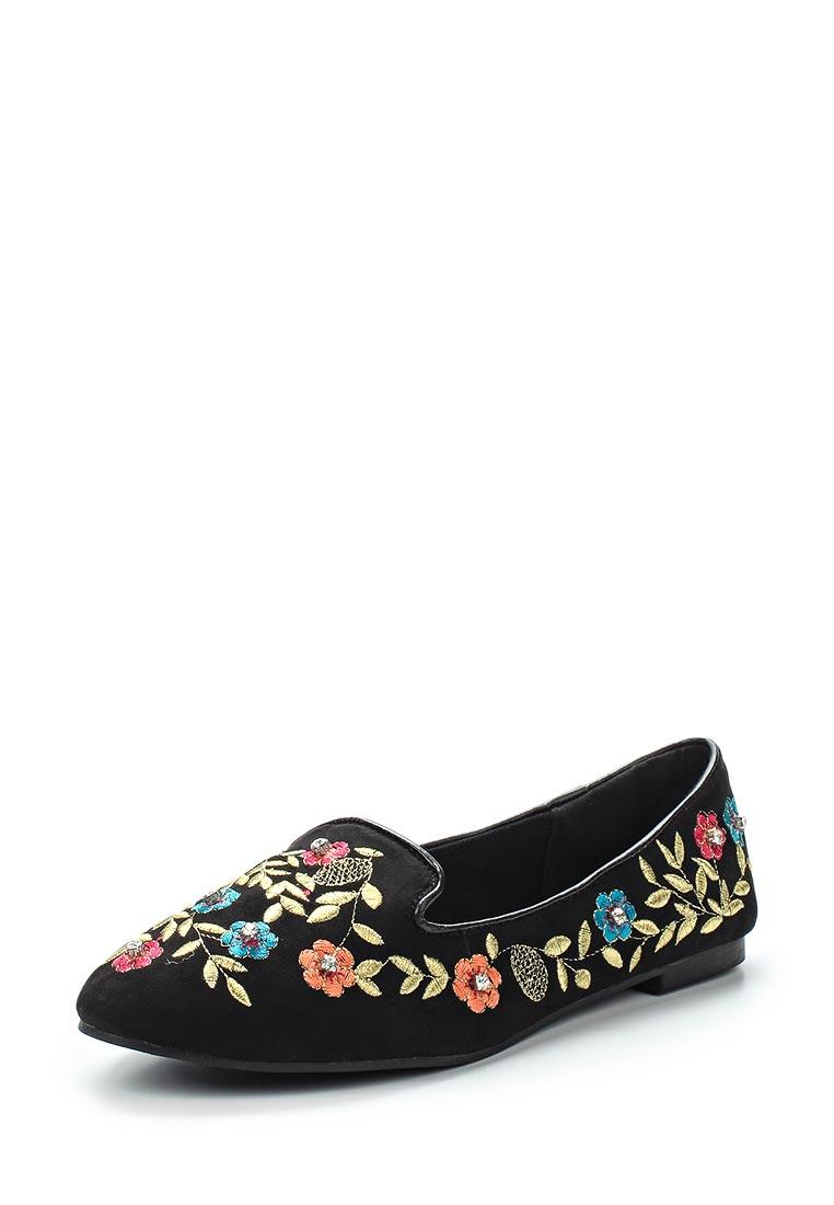 Туфли на плоской подошве Topshop (Топ Шоп) 42S07MBLK