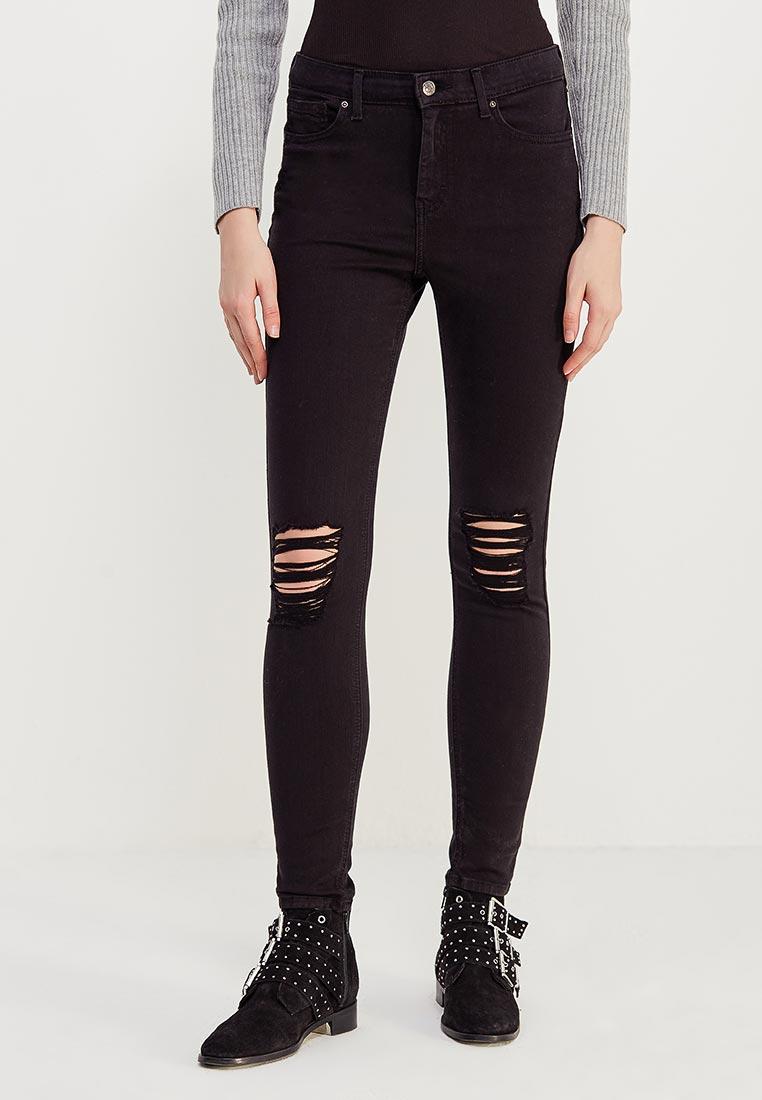 Зауженные джинсы Topshop (Топ Шоп) 02K22LBLK
