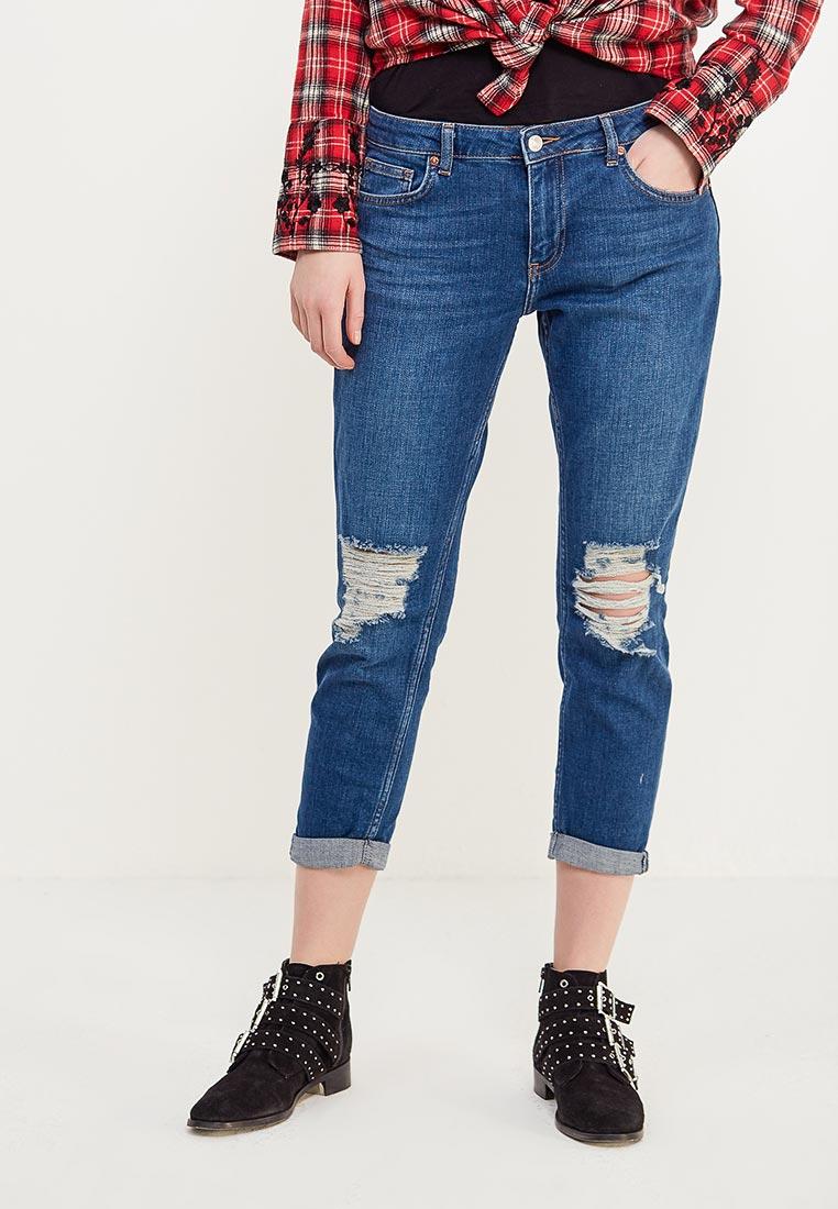 Зауженные джинсы Topshop (Топ Шоп) 02V01MDST