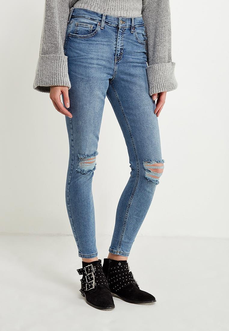 Зауженные джинсы Topshop (Топ Шоп) 02Y29LMDT