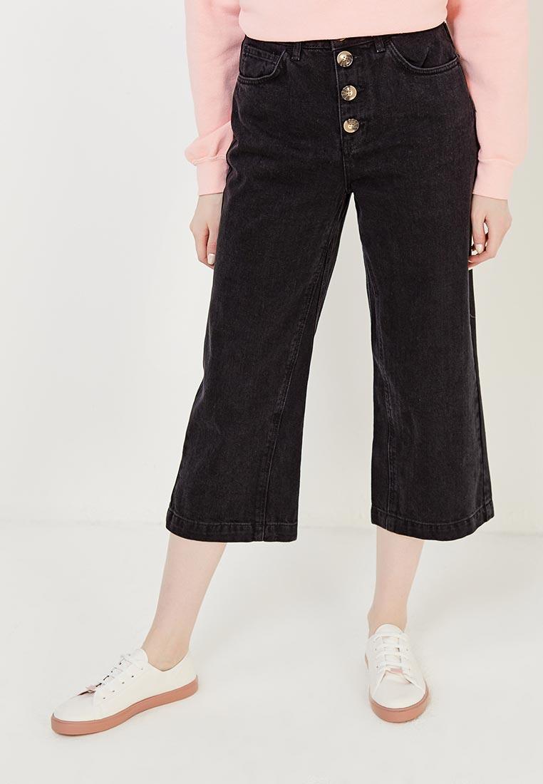 Широкие и расклешенные джинсы Topshop (Топ Шоп) 02C21MBLK