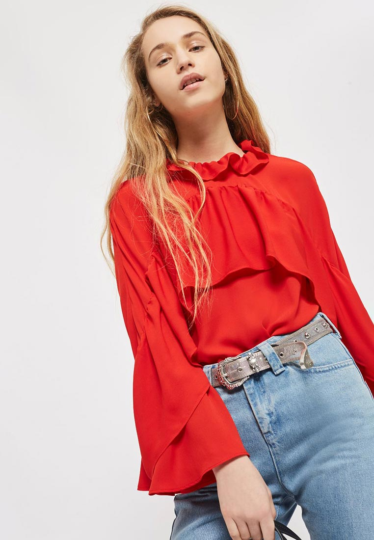 Блуза Topshop (Топ Шоп) 13D12NRED