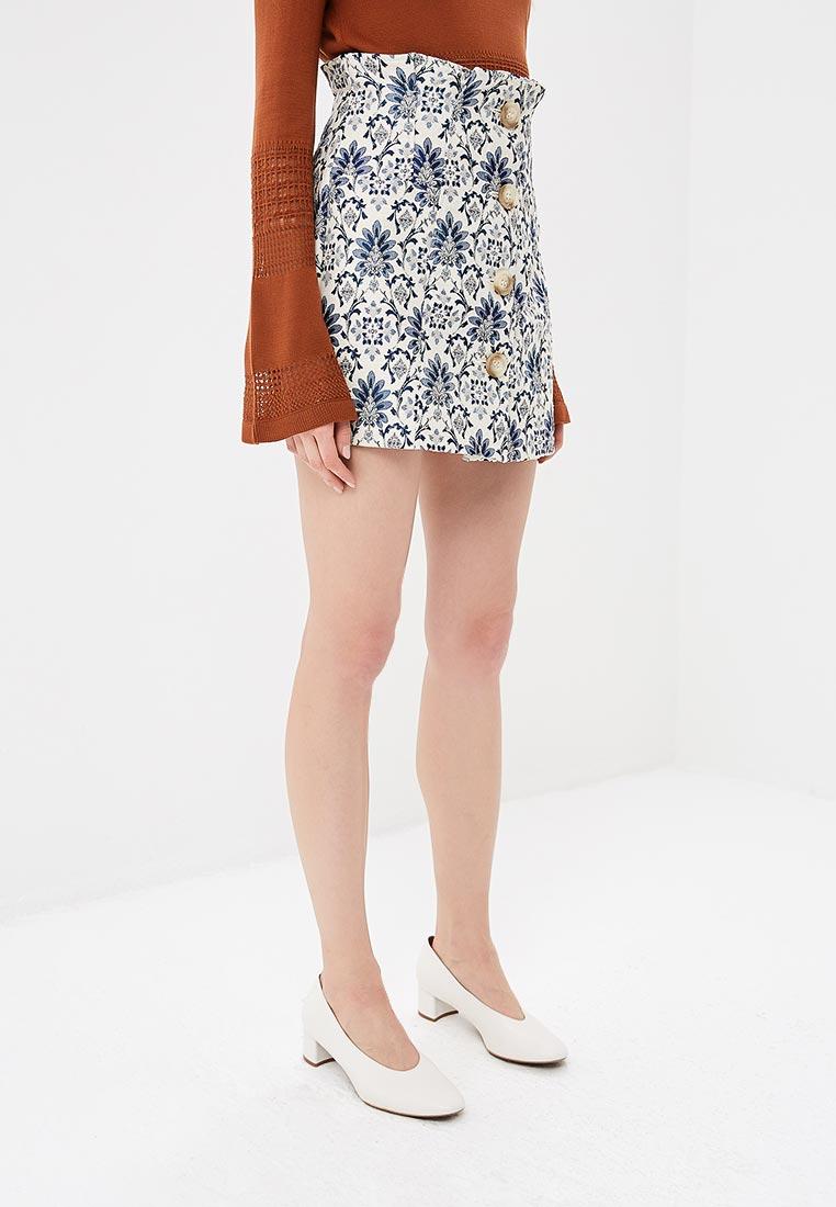 Широкая юбка Topshop (Топшоп) 27M06NIVR