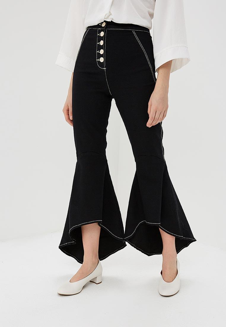 Широкие и расклешенные джинсы Topshop (Топ Шоп) 16F02NBLK