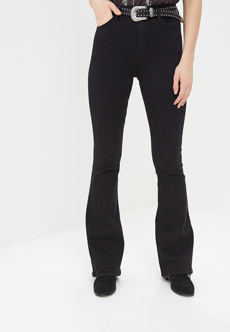 Широкие и расклешенные джинсы Topshop (Топ Шоп) 02F06NBLK