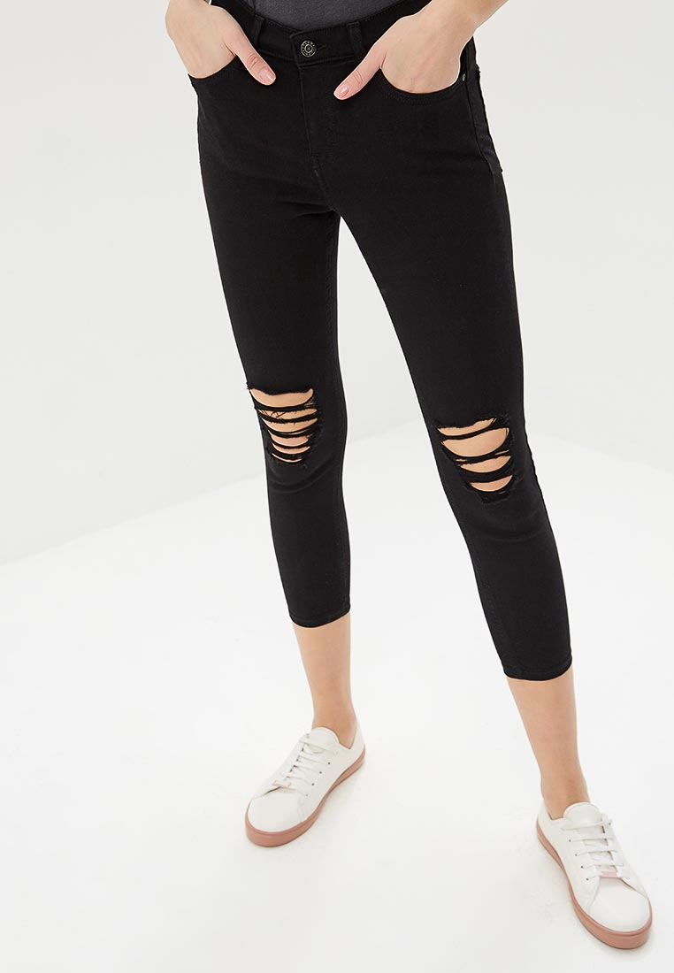Зауженные джинсы Topshop (Топ Шоп) 26A75LBLK