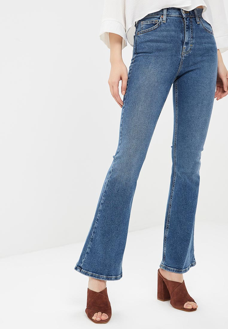 Широкие и расклешенные джинсы Topshop (Топ Шоп) 02F07NMDT