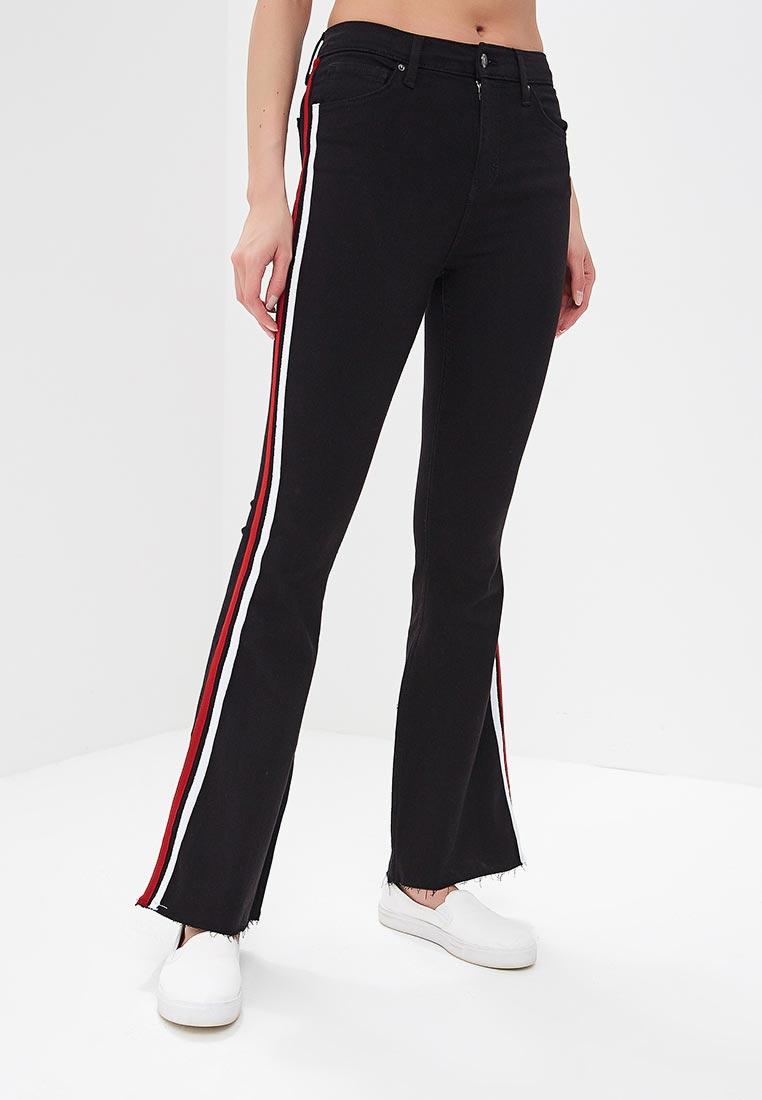 Широкие и расклешенные джинсы Topshop (Топ Шоп) 02F08NBLK