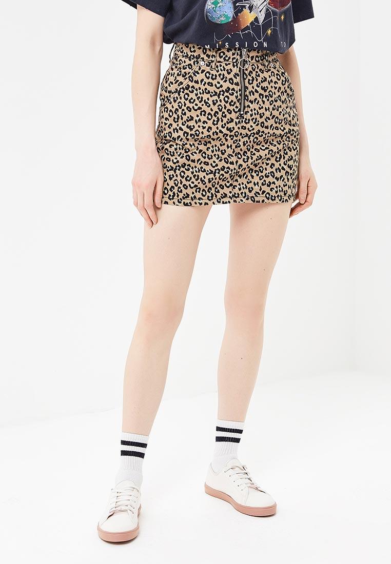 Широкая юбка Topshop (Топшоп) 05R54NTAN