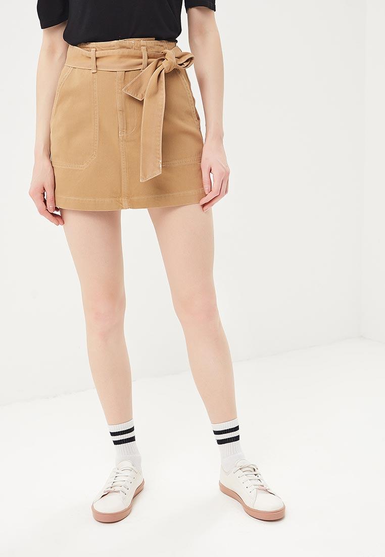 Прямая юбка Topshop (Топ Шоп) 05R55NTAN