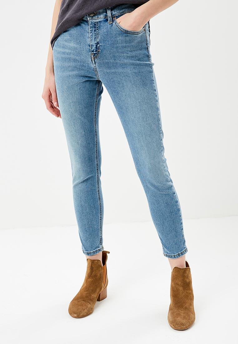 Зауженные джинсы Topshop (Топ Шоп) 02Y07MBLC