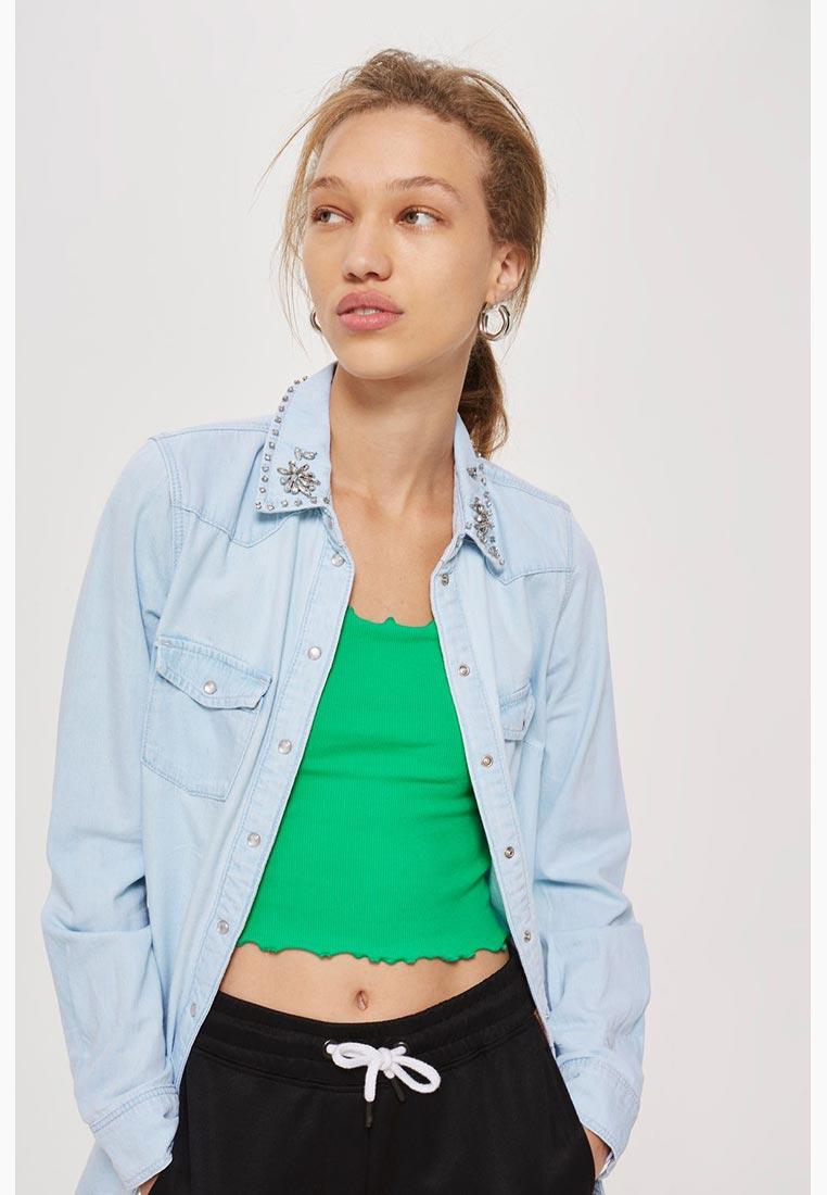 Женские джинсовые рубашки Topshop (Топшоп) 05H15NBLC