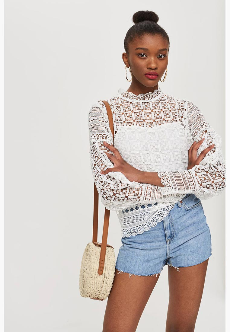 Блуза Topshop (Топ Шоп) 23L05NWHT