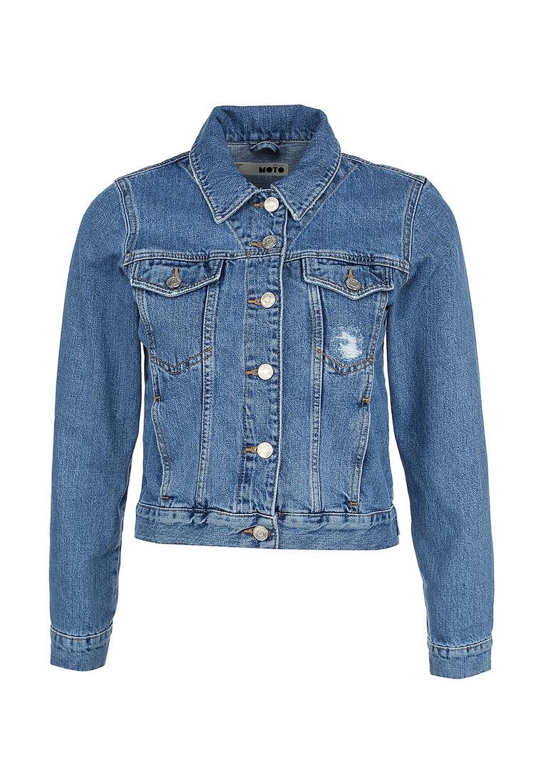 Джинсовая куртка Topshop (Топ Шоп) 05J07IMDT