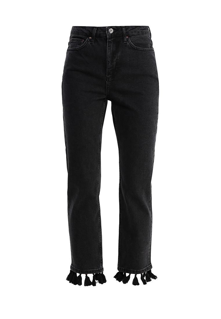 Прямые джинсы Topshop (Топ Шоп) 02G10KBLK