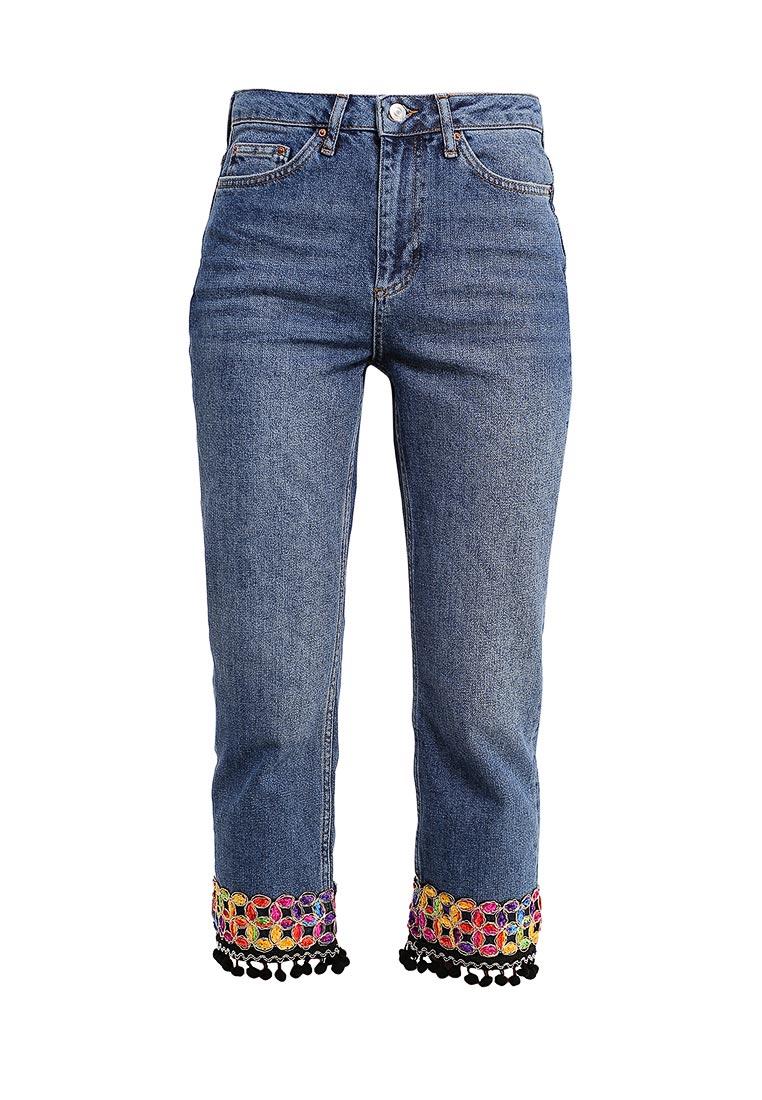 Прямые джинсы Topshop (Топ Шоп) 02G32KMDT