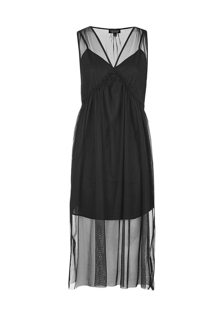 Платье-миди Topshop (Топ Шоп) 10E08LBLK