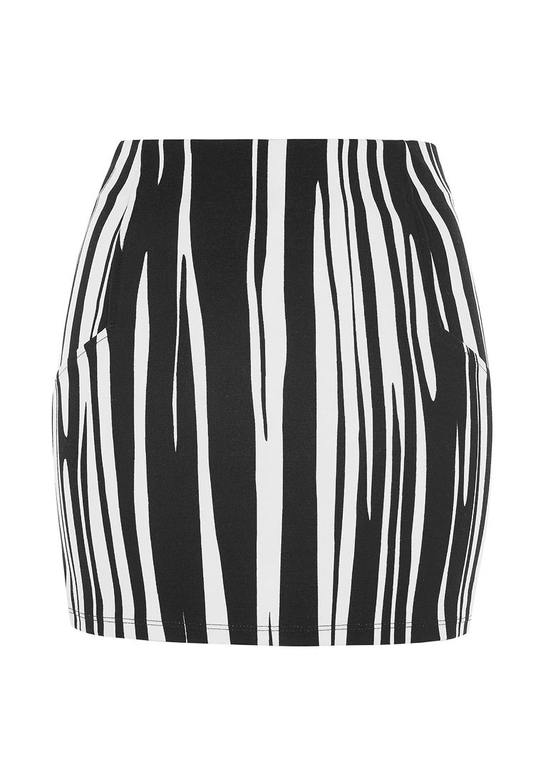 Узкая юбка Topshop (Топ Шоп) 27J01LMON