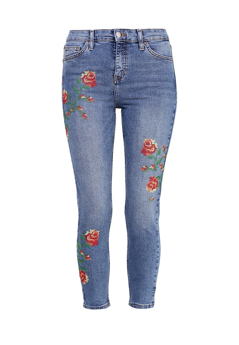 Зауженные джинсы Topshop (Топ Шоп) 02Y52LMDT