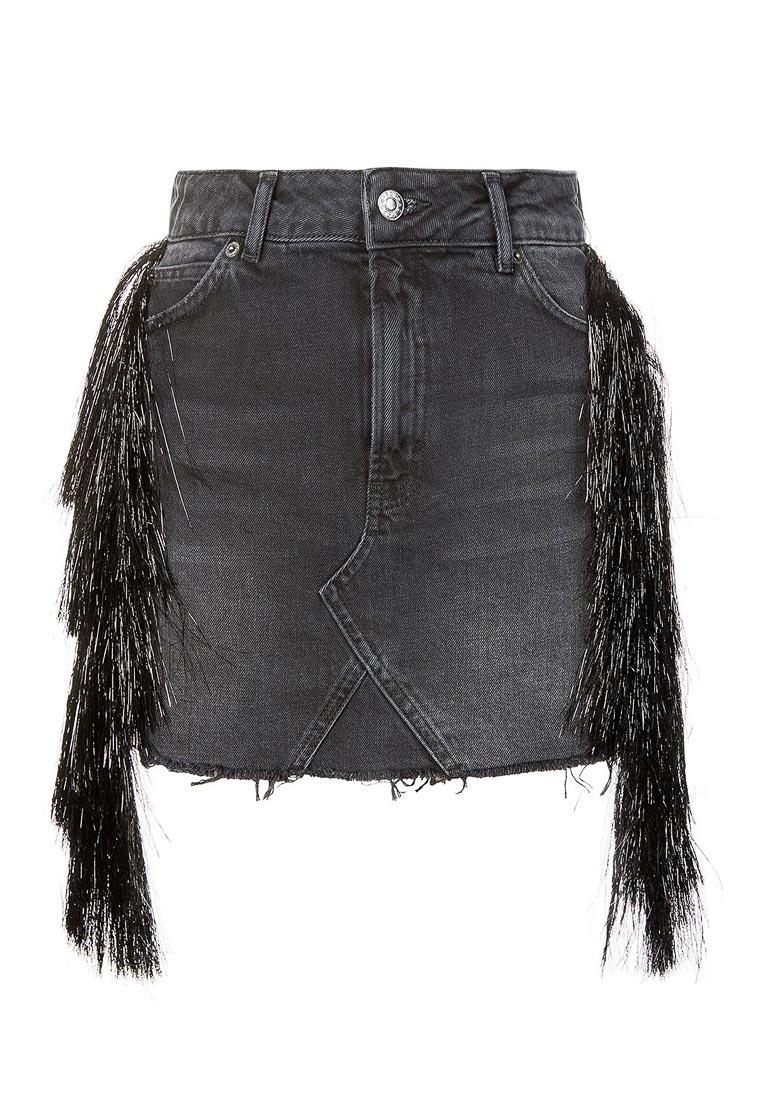 Прямая юбка Topshop (Топ Шоп) 05R52LBLK
