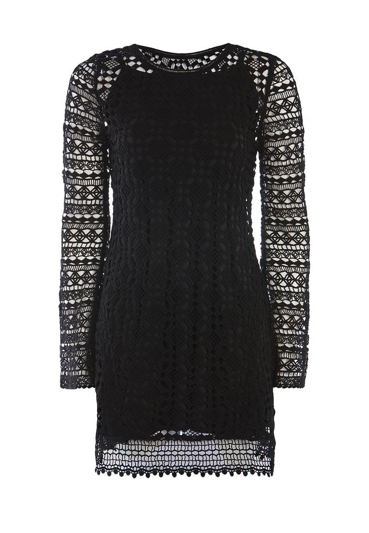 Платье-мини Topshop (Топ Шоп) 23Z09LBLK