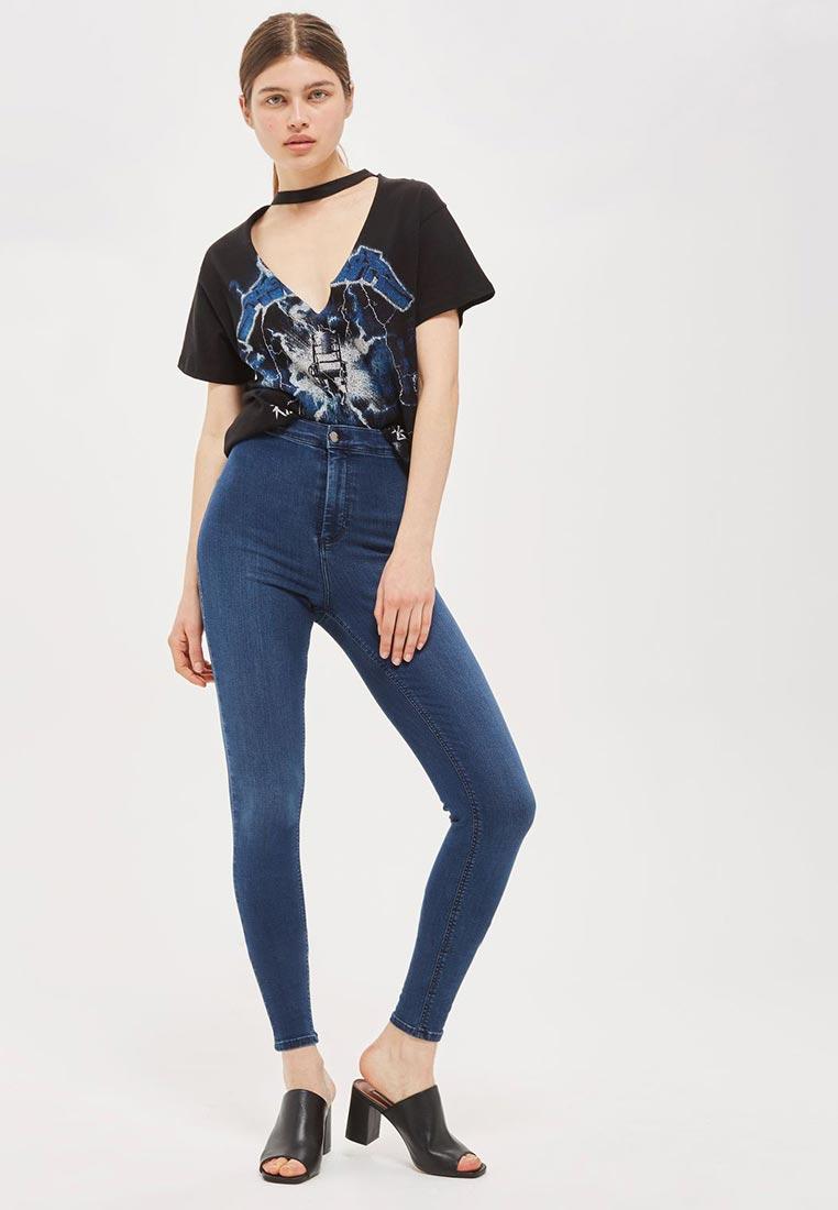 Зауженные джинсы Topshop (Топ Шоп) 30A41LBLE: изображение 2