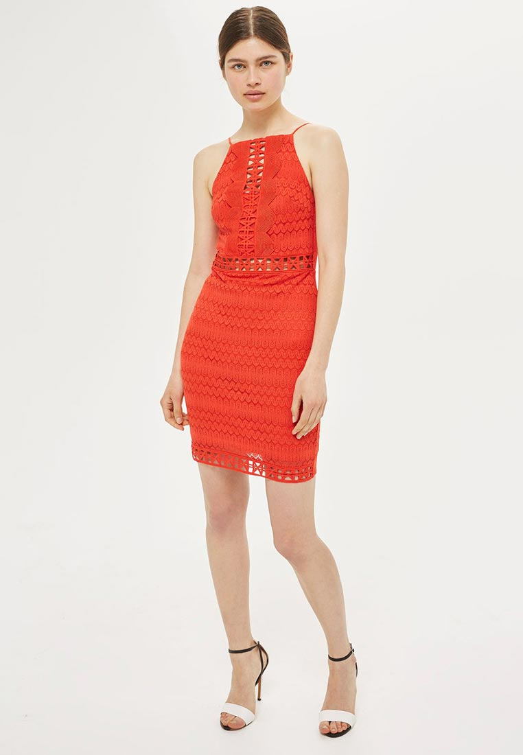 Платье-миди Topshop (Топ Шоп) 35L02LRED
