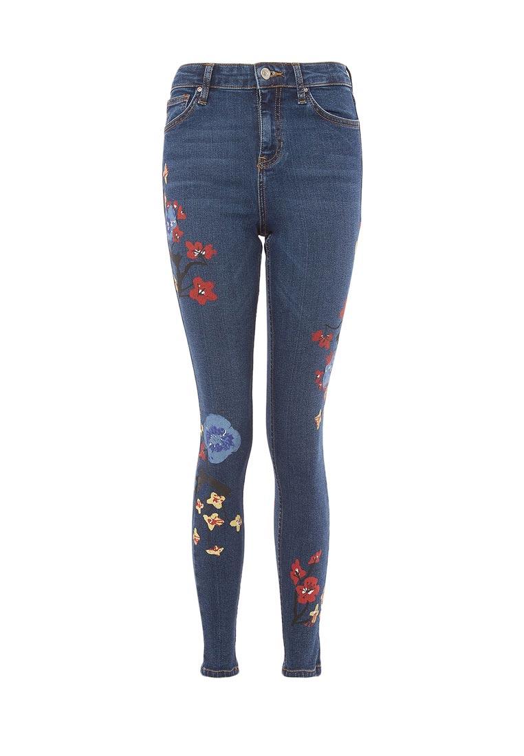 Зауженные джинсы Topshop (Топ Шоп) 02Y61LMDT