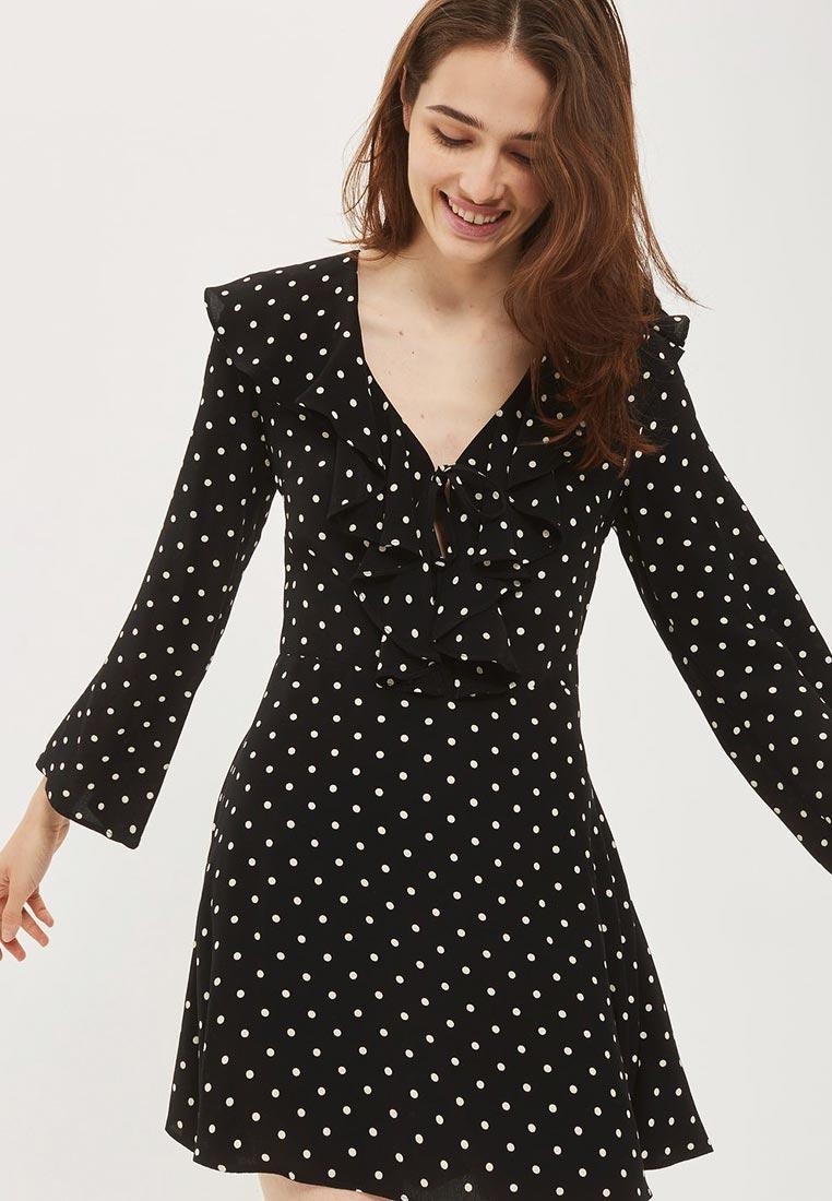Повседневное платье Topshop (Топ Шоп) 10S09LBLK
