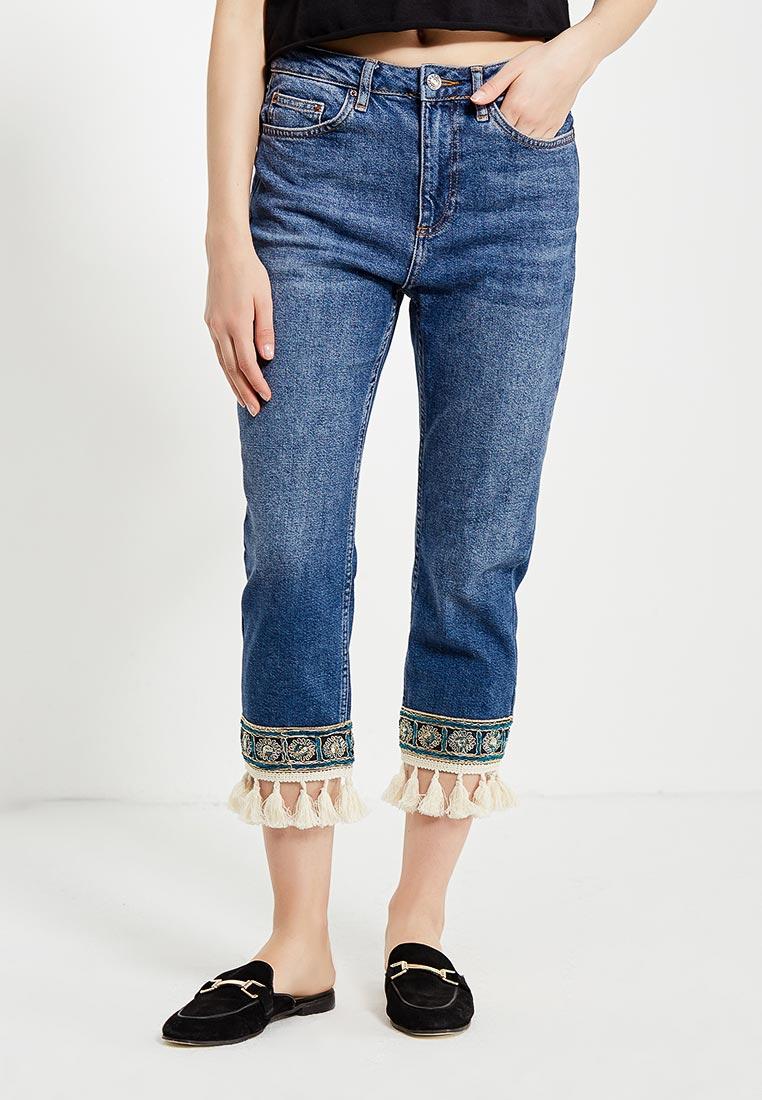 Зауженные джинсы Topshop (Топ Шоп) 02G60KMDT